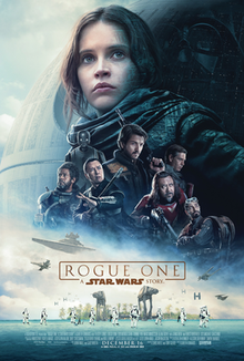 """Rogue One: A Star Wars Story"" comes out in theaters"