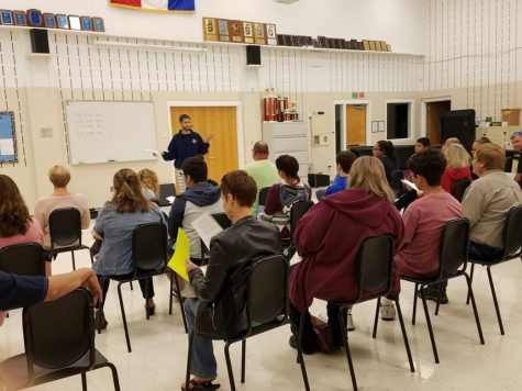 Parents of LTHS students schooled at annual Curriculum Night