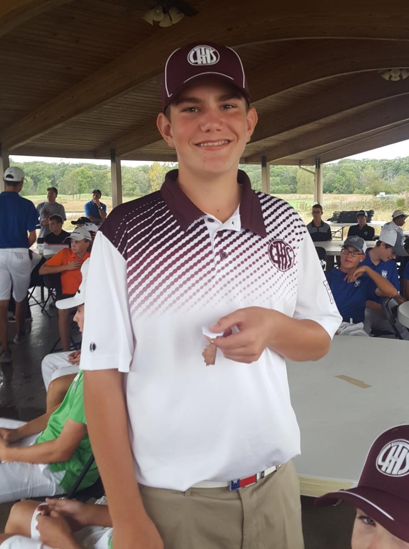 LTHS golfer Ben Sluzas