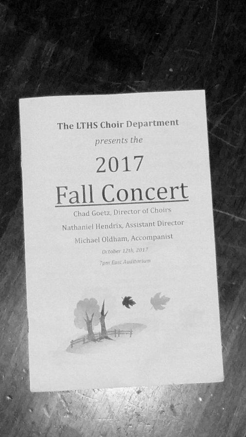 LTHS choir begins the year in harmony