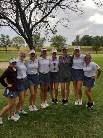 Boys and girls golf end their season on a good note