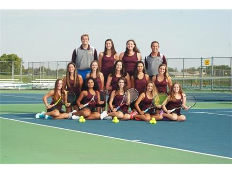 Girls tennis team closes its season