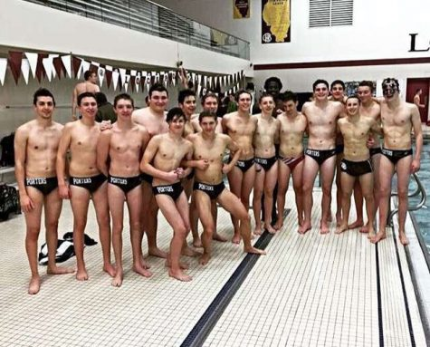 Boys swim and dive team starts their season with big goals