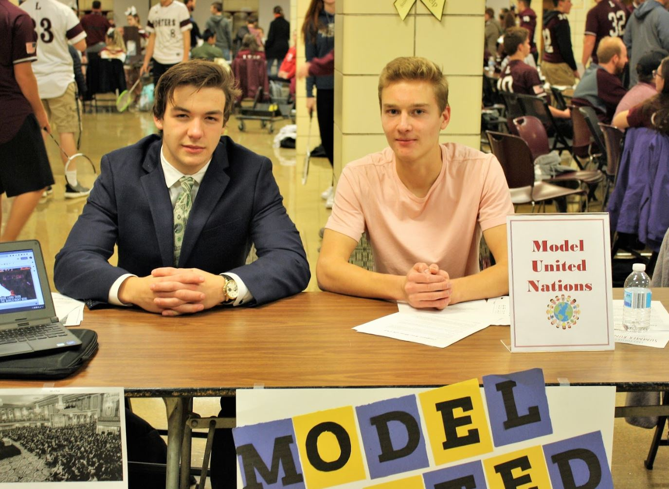 Model UN Club at Step-Up Night