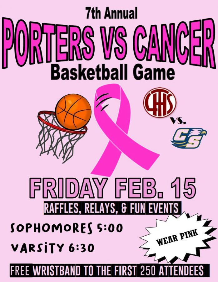 LTHS+hosts+7th+Annual+Porters+vs.+Cancer+Night