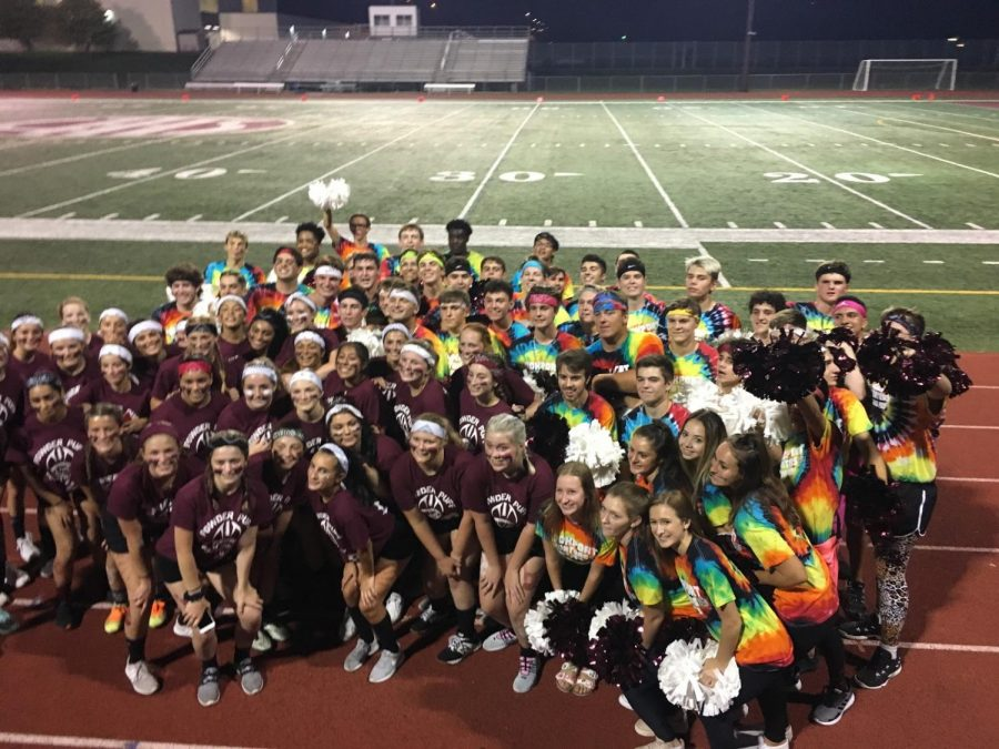 Seniors win the annual powder puff homecoming games
