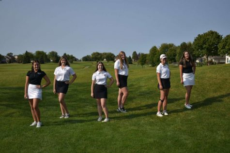 Girls Golf Senior Night and Review on the Season with a Twist