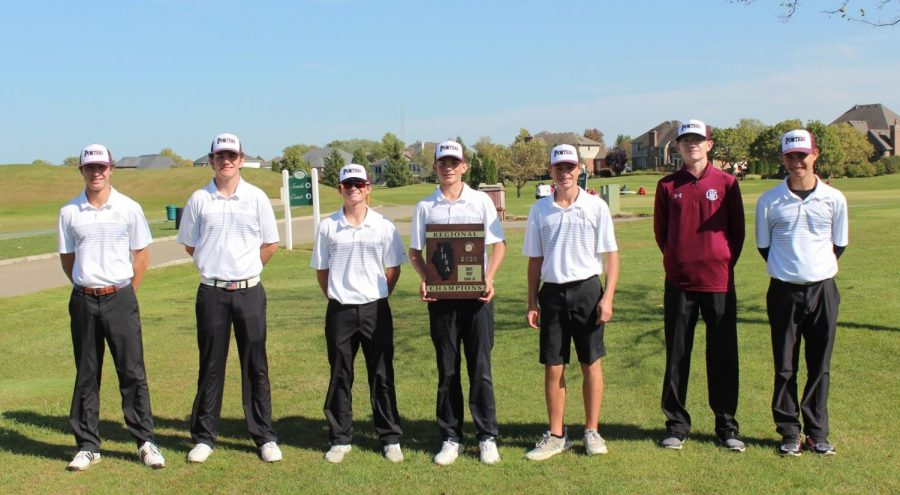 Boys+Varsity+Golf+Finishes+Season+Strong+Despite+Disappointing+Ending
